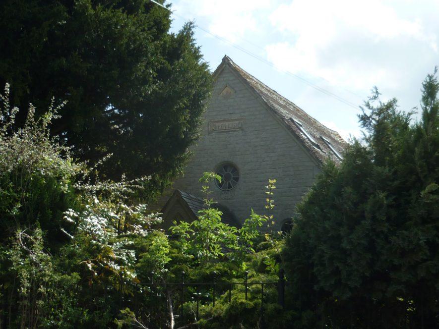 The Ebeneezer Chapel. Nonconformist Chapel in Binton, 2019. | Image courtesy of William Arnold