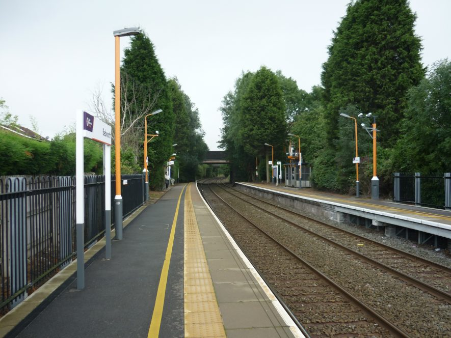Bedworth station as it is today.   Image courtesy of William Arnold