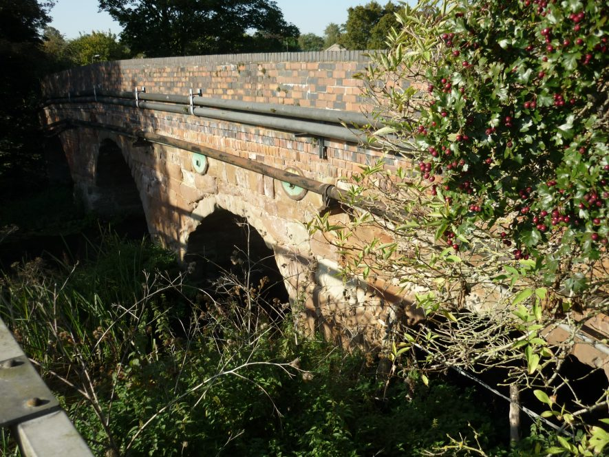 south face of Wolston bridge, 2019 | Image courtesy of William Arnold