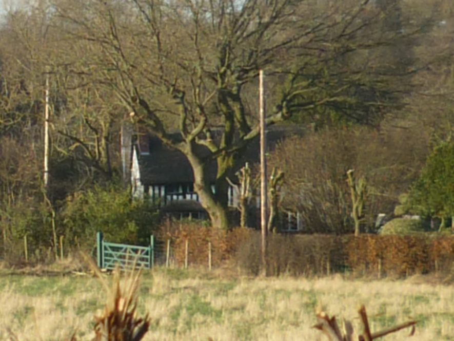 A view of Pipes Mill, Stoneleigh | Image courtesy of William Arnold January 2020