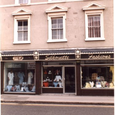 Silhouette fashions, Long Street, Atherstone | Photo courtesy of Friends of Atherstone Heritage