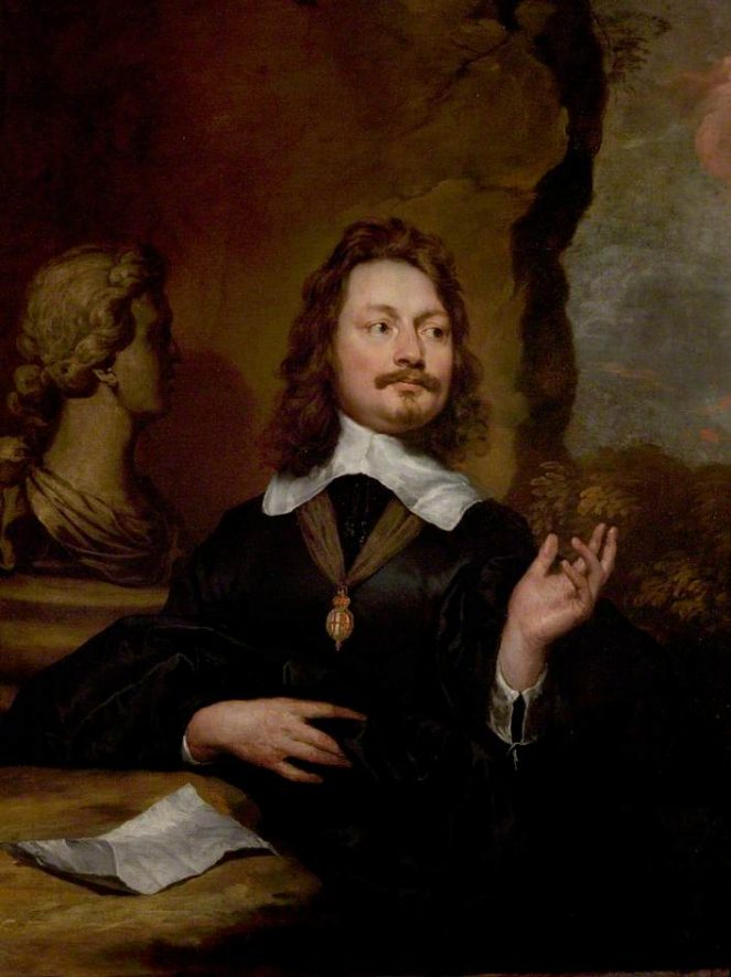 Sir Edward Walker, by William Dobson. | Image courtesy of the Shakespeare's Birthplace Trust