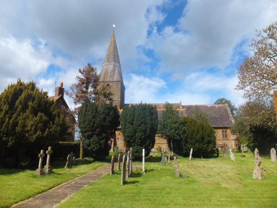 Church of St Peter, Radway, 29/04/2016   Image courtesy of Gary Stocker
