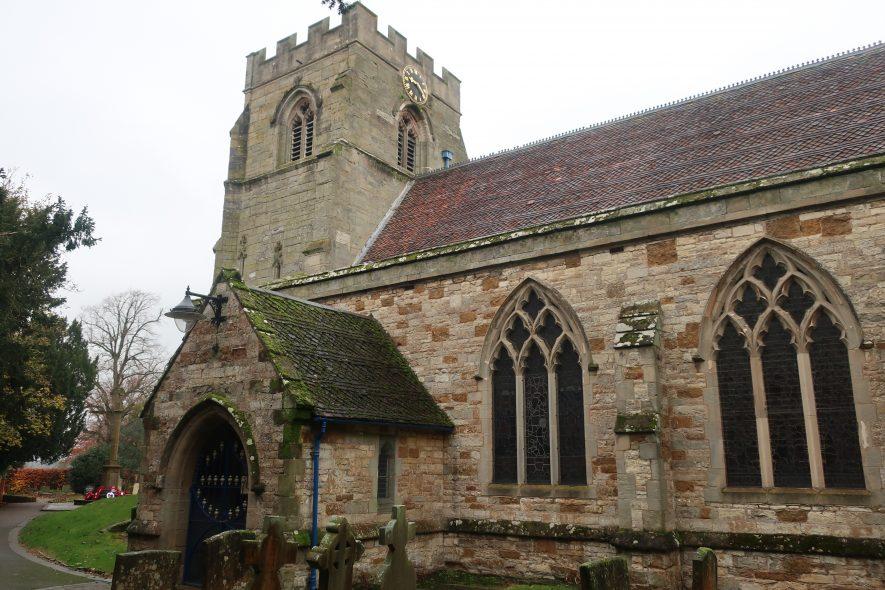 Church of St Peter, Wellesbourne, 2019. | Image courtesy of Gary Stocker