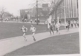 Runners competing at Bramcote. | Photo courtesy of Steve Collins and Nuneaton Memories