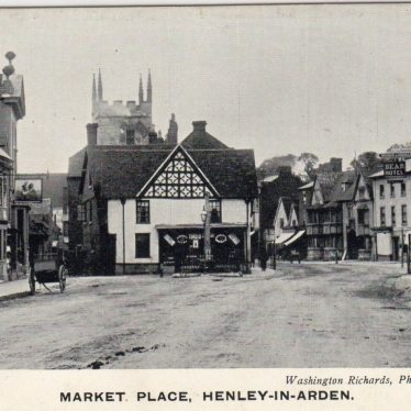 Site of George and Dragon Inn, High Street, Henley in Arden