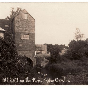 The-Old-Mill-Aston-Cantlow | Image courtesy of William Arnold.