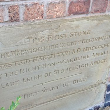 Weston Reformatory Stone | Image courtesy of Jane Jones