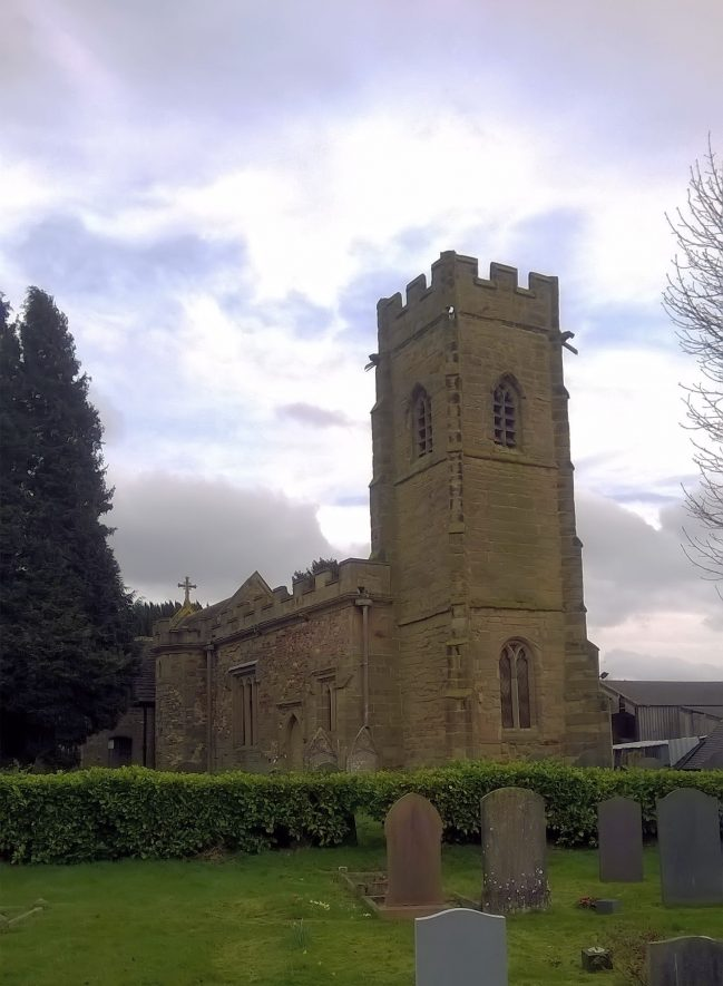 Photo of Church of St Leonard, Willey | Image Courtesy of Gary Moore, February 2020