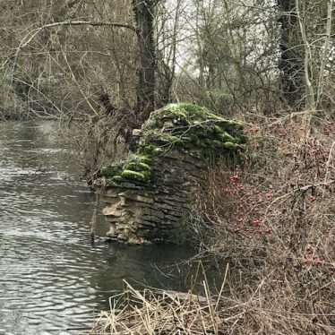 Site of Abbots Salford Mill, 2019. | Image courtesy of Suzannah Smallwood