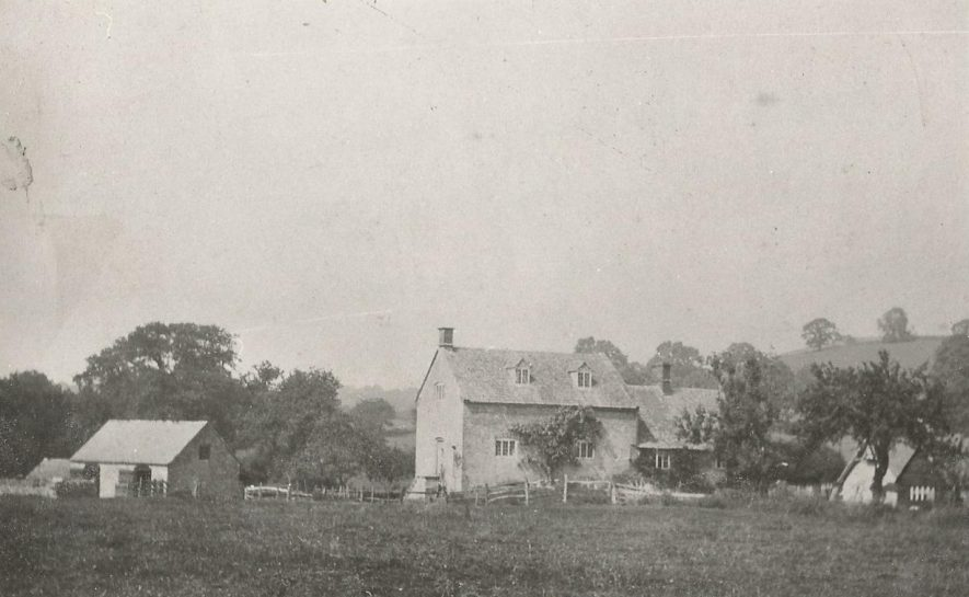 Long Compton Mill and House, 1900. | Image courtesy of C Tanner