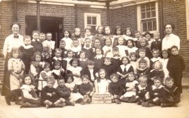Kenilworth Council School, Infants 1914. | Image supplied by Morgana Fay