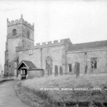 Church of St Botolph, Burton Hastings