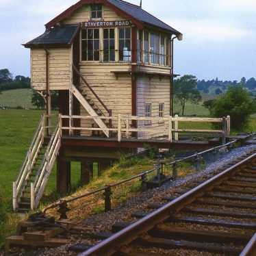 Site of Staverton Signal Box
