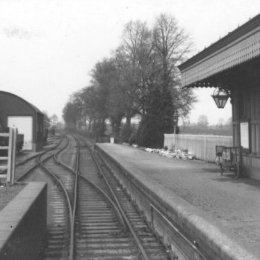 Shipston on Stour station, 1940s. | Warwickshire County Record Office reference PH 352/158/154