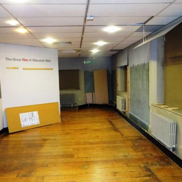Archaeology Gallery, part empty. | Image courtesy of Andy Isham, Heritage and Culture Warwickshire