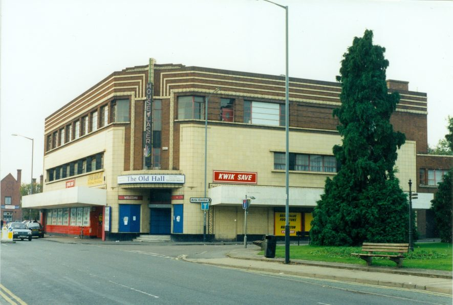 Co-op Hall, Nuneaton. | Image by Louise Essex, donated to Nuneaton Library