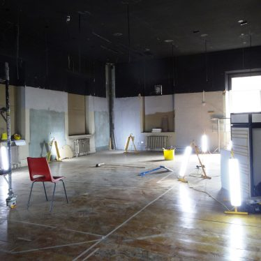 Archaeology Gallery, empty. | Image courtesy of Andy Isham, Heritage and Culture Warwickshire