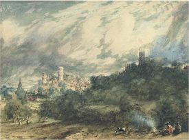 Constable - A view of Warwick from the Kenilworth Road. | © Christie's Images Limited 2016