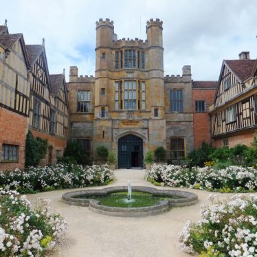 Photograph of Coughton Court, June 2014   Photo courtesy of Rachael Marsay