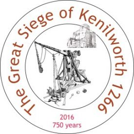KHAS Siege logo | Image courtesy of the Kenilworth History and Archaeology Society