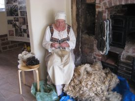 Open Day at the Weaver's House.   Photograph courtesy of Carol de Rose