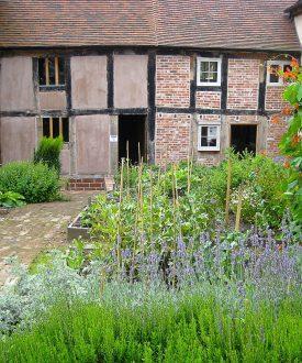 The Weaver's House garden. | Photograph courtesy of Clare Chamberlain