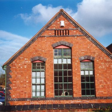 Vicarage Church Infants' School, 2002, south side. Formerly a double classroom divided by a sliding screen. | Image courtesy of Dennis Hodgetts