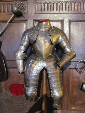 The Noble Imp's Armour (?) | Image courtesy of Warwick Castle