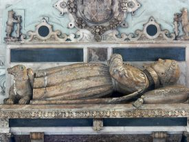The tomb of the Noble Imp, St Mary's Collegiate Church. |  Image courtesy of Walwyn CC BY-NC 2.0 via Christine Hartweg