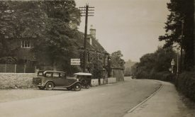 The Red Lion at Long Compton. | Warwickshire  County Record Office reference PH352/59/40