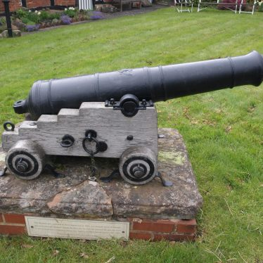 Cannon at Berkswell. | Image courtesy of Caroline Irwin