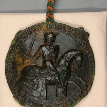The Great Seal of England: a Treasure from the Waller of Woodcote Collection