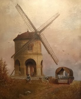 Chesterton Windmill, 1886 | Image courtesy of Robert Mulraine