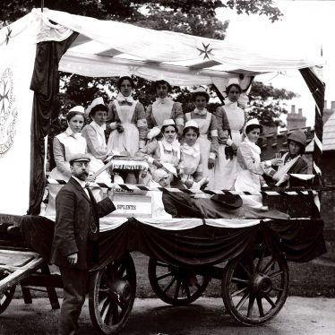 Nurses in Rugby | Image courtesy of Rugby Art Gallery and Museum