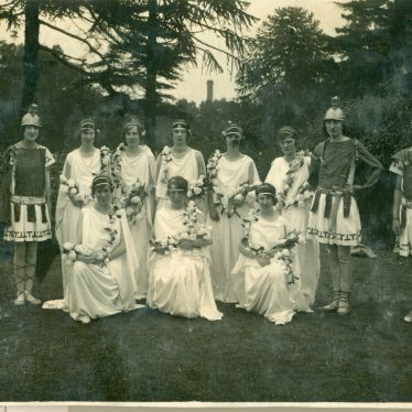 Leamington. Torchbearer's Pageant