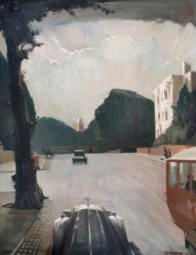 No. 1 Kenilworth Road, Leamington Spa   Painted by Joseph Parsons (1932) - Image courtesy of the Leamington Spa Museum and Art Gallery