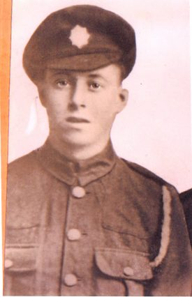 Herbert John Reeves, in soldier uniform. | Image courtesy of Neil Painter