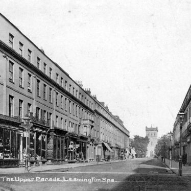 Leamington Spa.  Upper Parade