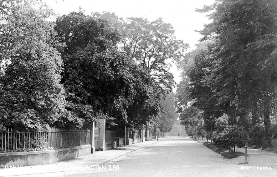 Upper Holly Walk, Leamington Spa.  1900s |  IMAGE LOCATION: (Warwickshire County Record Office)