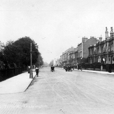 Leamington Spa.  Leam Terrace