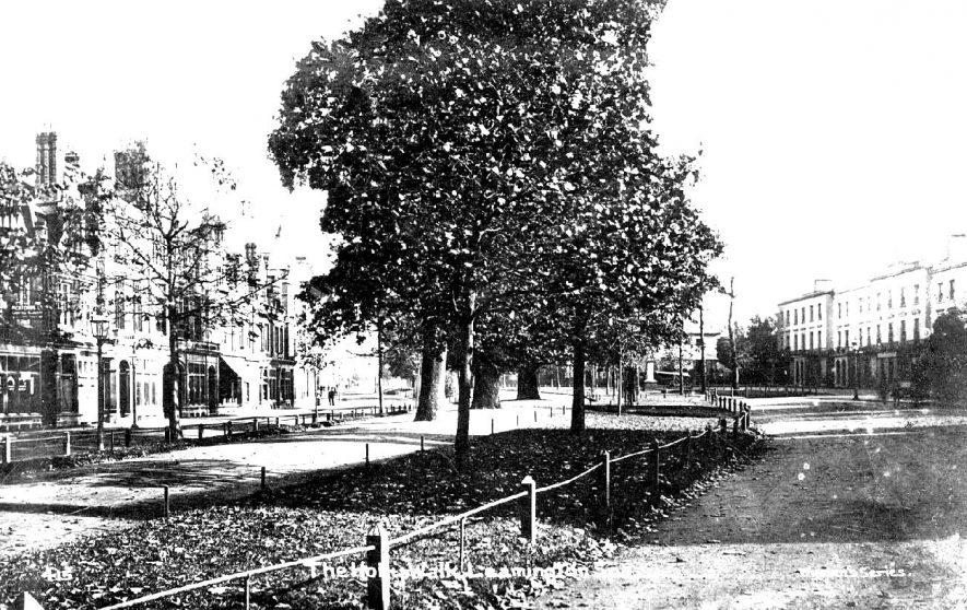 Holly Walk, Leamington Spa.  1900s |  IMAGE LOCATION: (Warwickshire County Record Office)