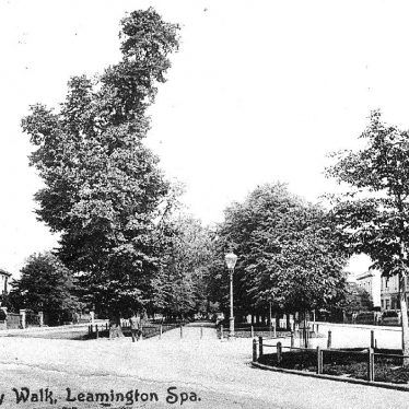 Leamington Spa.  Holly Walk