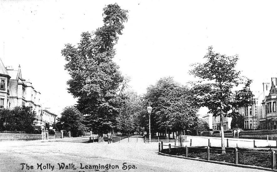 Holly Walk, Leamington Spa.  1900s |  IMAGE LOCATION: (Warwickshire County Record Office)
