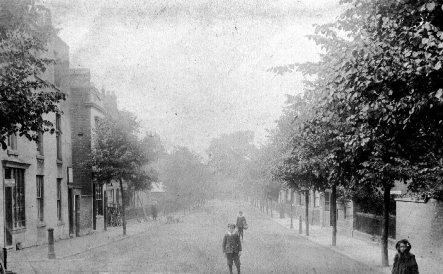 Campion Terrace, Leamington Spa.  1900s |  IMAGE LOCATION: (Warwickshire County Record Office)