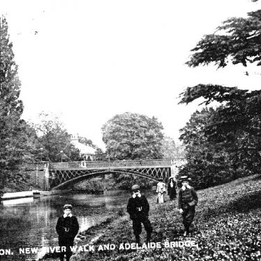 Leamington Spa.  Adelaide Bridge