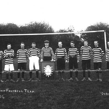 Leamington Spa.  Town Football Team