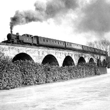 Leamington Spa.  Princes Drive, viaduct