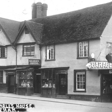 Southam.  Market Hill, King Charles House