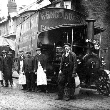 Leamington Spa.  K. England & Son